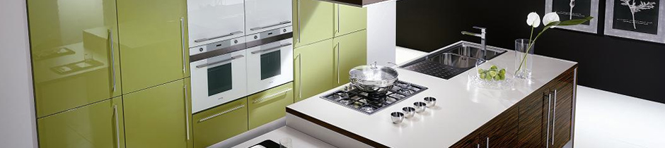 Glossy Finish Kitchen